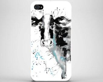 Cow phone case, Iphone X/8/7/6/5/4, Samsung S4/S5/S6/S7/S8, animal phone case, strong case, cow, phone case, galaxy phone case, iphone case