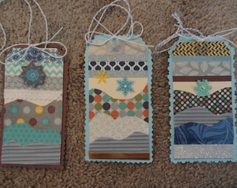 Winter Gift Tags: set of 3 for 5 bucks!