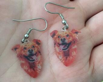 Custom Pet Earrings