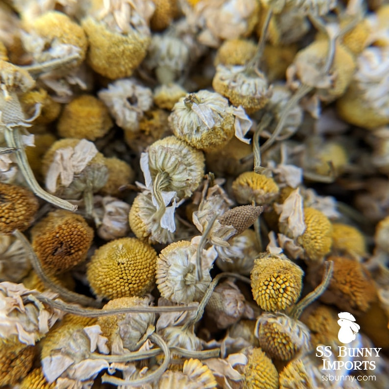 Whole chamomile flowers certified organic bunny treat image 0