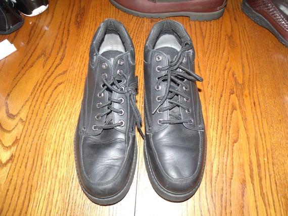 Hombres zapatos SKECHERS SN 6802 cuero superior equilibrio tamaño 13