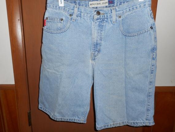 9a782d549118 Mens Vintage Bugle Boy 750 Shorts Light Wash Denim Jean 5 | Etsy