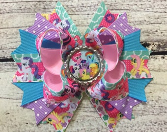 My Little Pony Bow by Inspired Bows