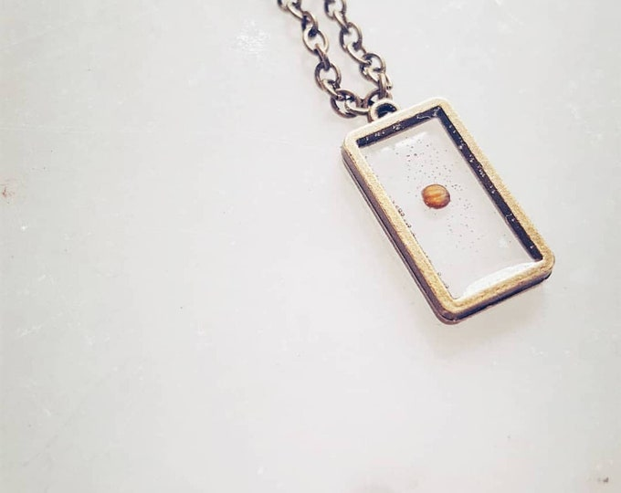 Faith as small as a mustard seed can move mountains necklace
