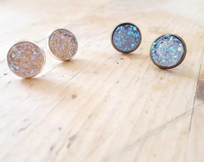 Crystal Druzy Galaxy Collection