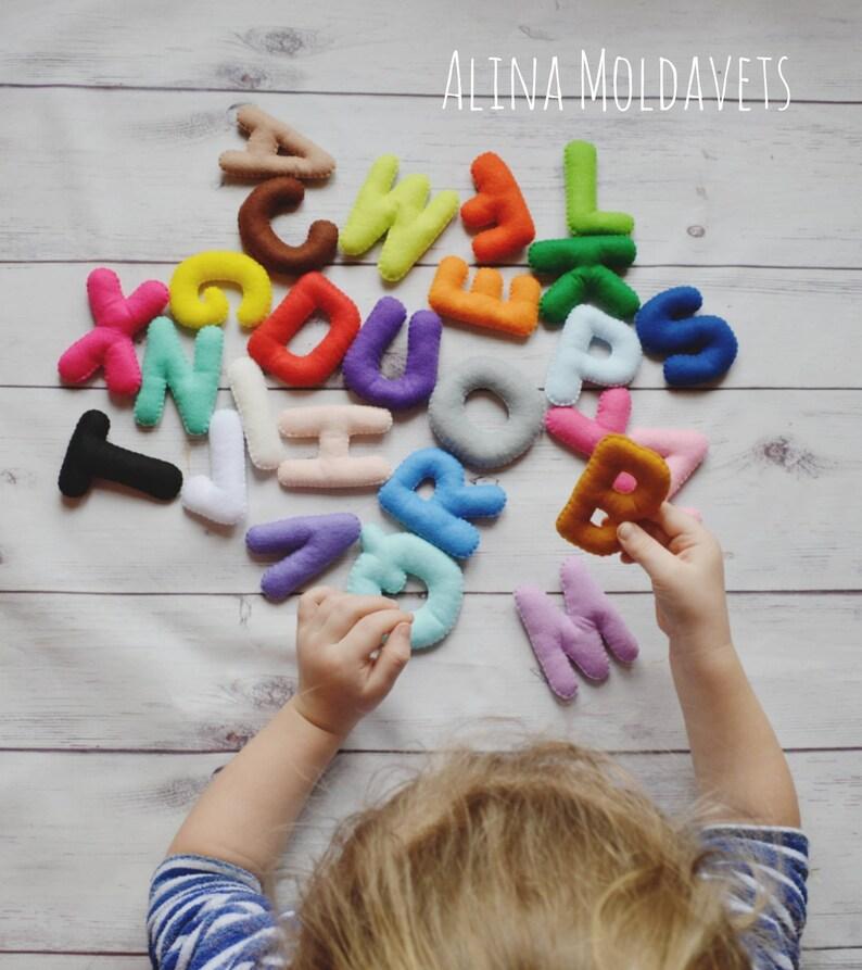 Colorful Felt Alphabet  felt alphabet  felt letters  image 0