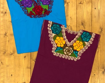 Mexican summer blouse