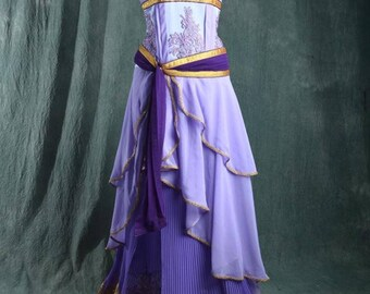 megara costume from hercules cosplay costume