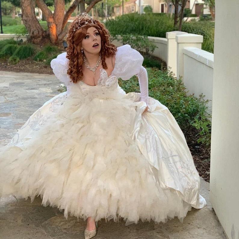 Giselle Wedding Dress Enchanted Film Disney Character Etsy