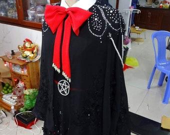 Kiki Delivery Sevice Costume - Kiki Costume - Kiki's costume - Hannah Alexander artwork