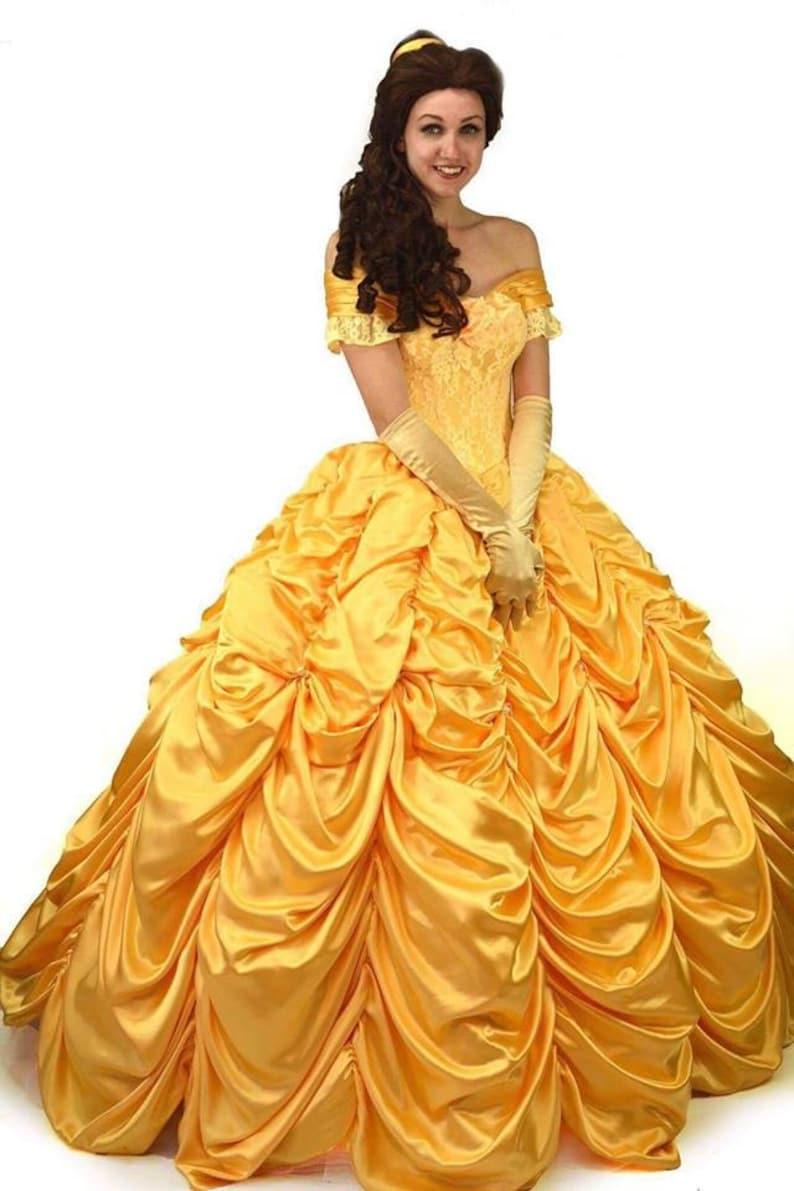 c4f11a45680 Belle Costume princesse Disney Belle robe adulte