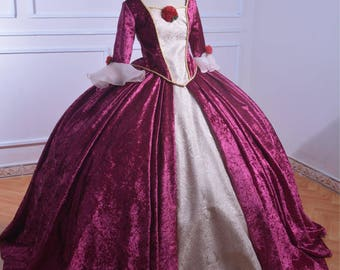 Christmas Belle - Beauty and the Beast - Disney Princess - Belle Adult