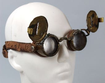 Snow goggles - Winter Apocalypse - Wasteland Goggle - Copper Goggle - Burning Man Goggle - Cosplay - Wasteland Weekend Cosplay
