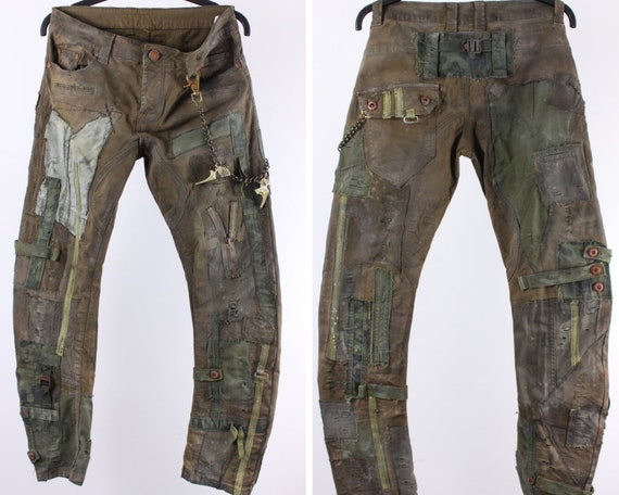 End Time Pants Wasteland Trousers Size M post-apocalyptic trousers