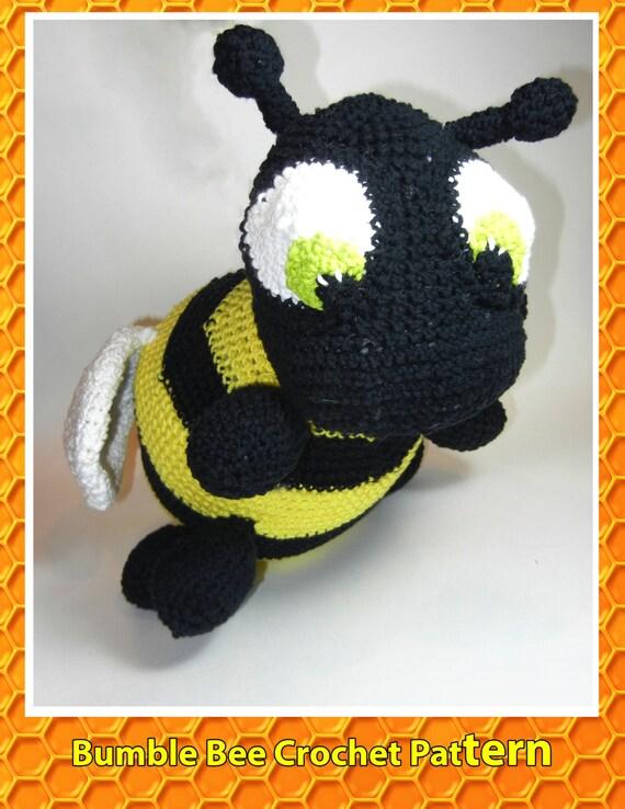 Bumble Bee Crochet Pattern Etsy