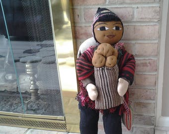Authentic Andean Man