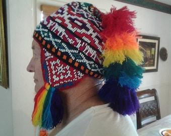 e45329a0f45 Authentic Peruvian chullo hat adults