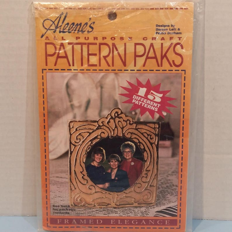 All Purpose Pattern Packs 15 Different Patterns Wood Stained Glass Fabric Crafts By Aleenes