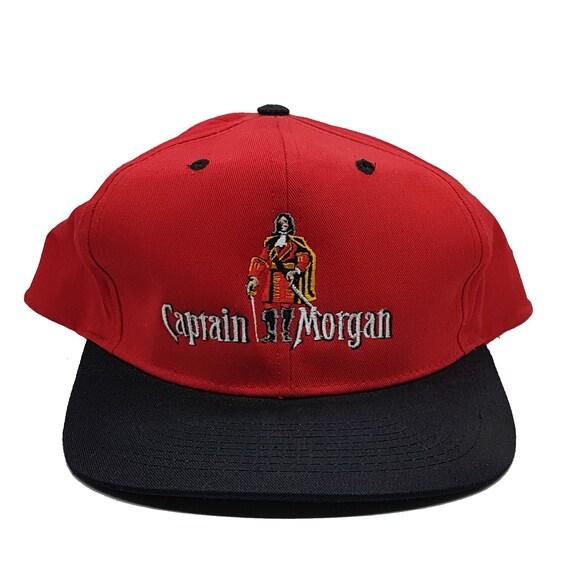 Vintage Captain Morgan Baseball Truckers Cap Hat