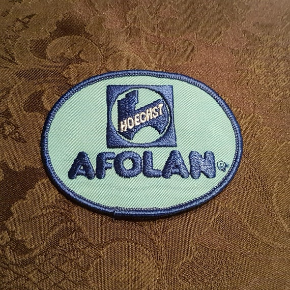 Vtg 1980s CSR Foods Patch Applique Crest Logo Crafts 1.75 Inches X 2.75 Inches