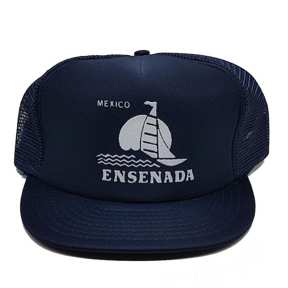 Vintage 80s Ensenada Mexico Truckers Cap Dad Hat