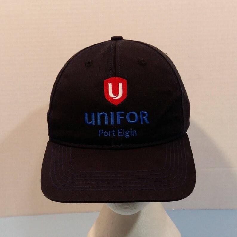 371f851c4db48 Unifor Port Elgin Baseball Truckers Dad Hat Cap Strap Back