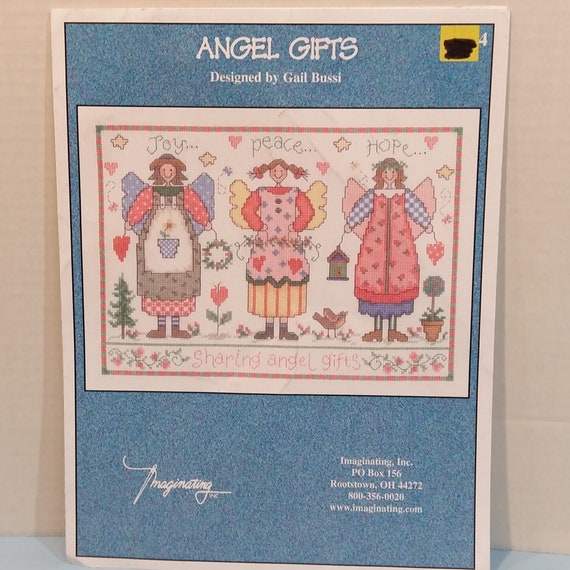Christmas Sampler Just Cross Stitch Vintage 1995 Counted Cross Stitch Design