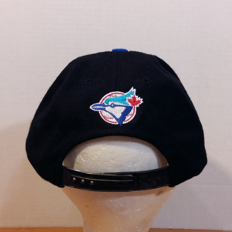 Toronto Blue Jays MLB Large Logo Baseball Truckers Dad Hat Cap  33e0ae8052f4