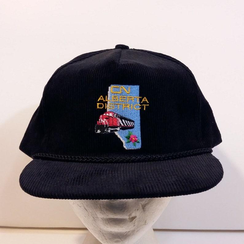aef1e89977cce CN Railway Alberta District Baseball Truckers Dad Hat Cap