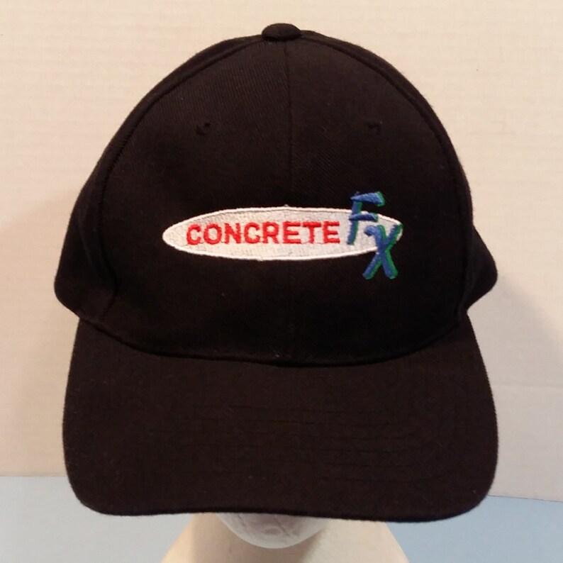 5a9631a34 Concrete FX Baseball Truckers Dad Hat Cap Strap Back