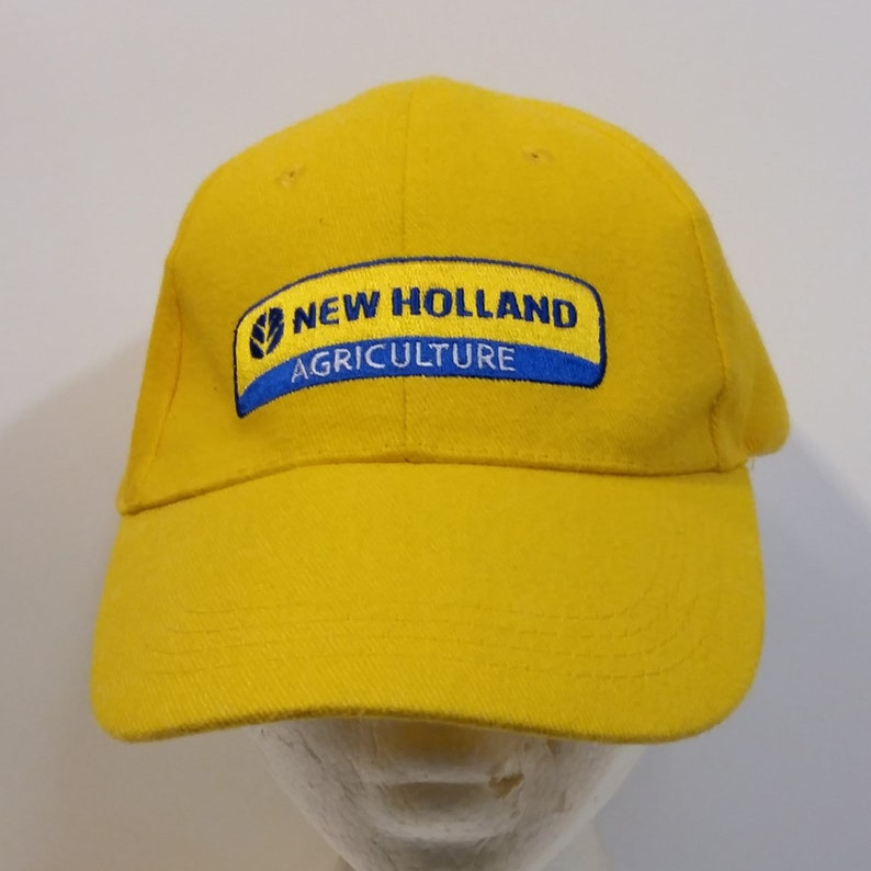 7eae9d6453bc3 New Holland Agriculture Baseball Truckers Dad Hat Cap Strap