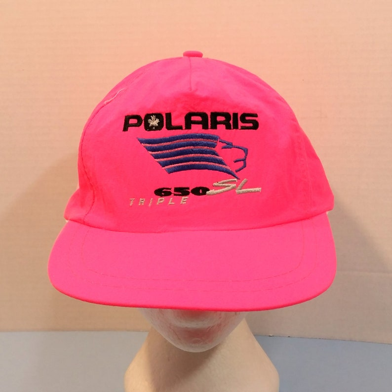 909f970ac29 Polaris 650 SL Triple Baseball Truckers Dad Hat Cap Snap Back
