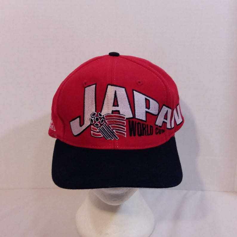 be68ad1f16422 1994 USA World Cup Japan Soccer Baseball Truckers Dad Hat Cap