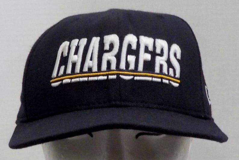 c96a323441d Vintage San Diego Chargers NFL Truckers Baseball Cap Dad Hat new era 5950  pro mo... Vintage San Diego Chargers NFL Truckers Baseball Cap Dad Hat new  era ...