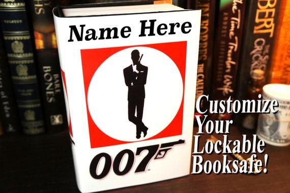 James Bond Book Safe Boyfriend Gift Birthday