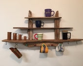 driftwood coffee mug display