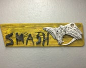 "Nashville Predators ""SMASH"" in Driftwood"