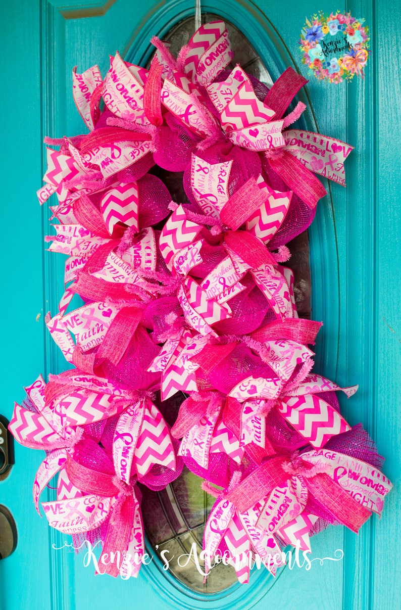 Breast Cancer Awareness Ribbon Breast Cancer Awareness Gifts Pink Breast Cancer Awareness Breast Cancer Awareness Breast Cancer Wreath