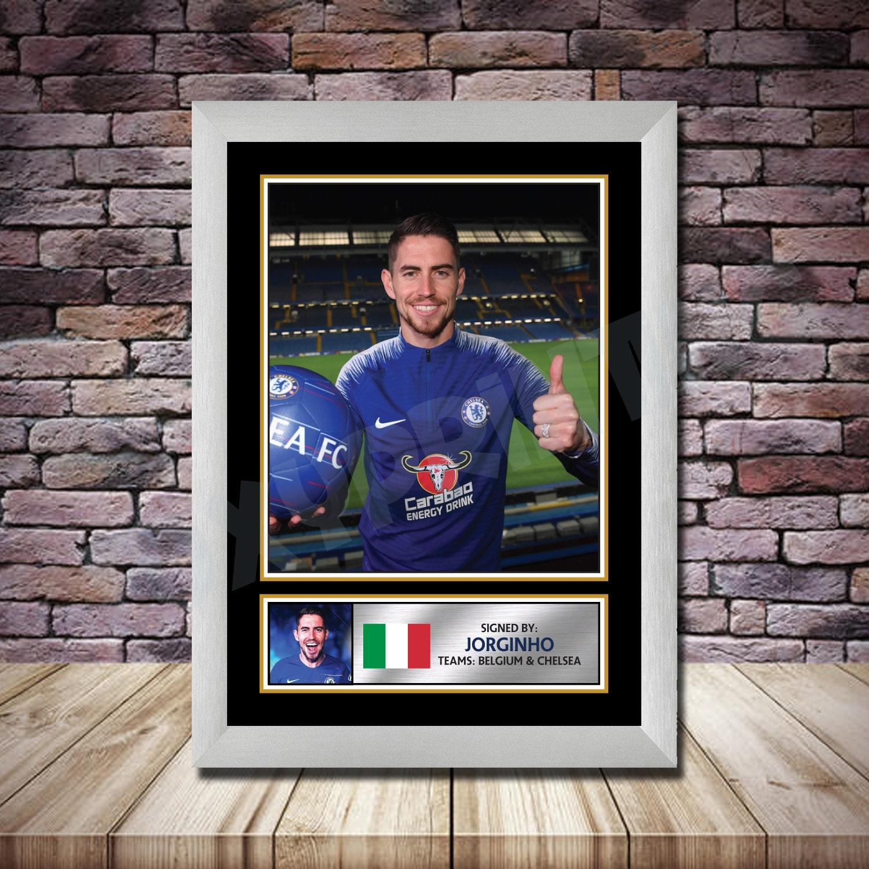 Personalised Signed Football Autograph print Jeorginho | Etsy