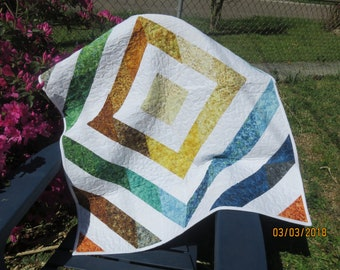 Lap Quilt or Baby/Toddler Quilt
