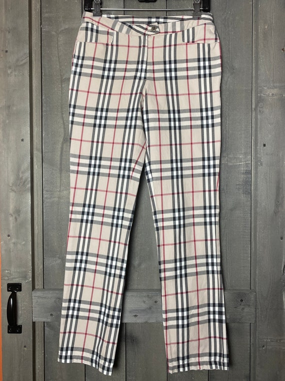 Burberry Nova Plaid pants