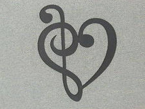 Collar Colgante Musical Clave De Fa-nota musical-Reino Unido Stock