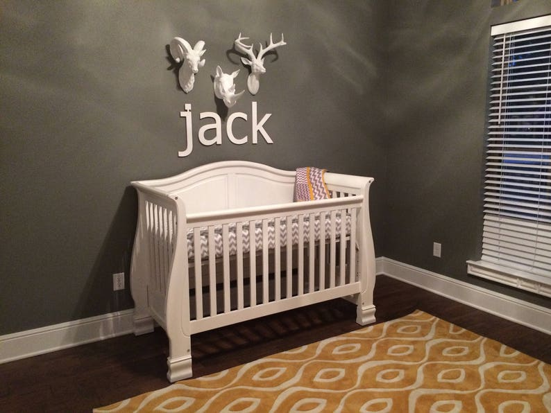 Wall Letters   Custom Baby Name   Nursery Wall Decor   Baby / Kids Nursery    Wooden Letters Wall Hanging   Wooden Name