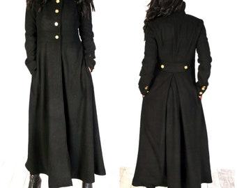 7ce761b4427 Long wool women coat