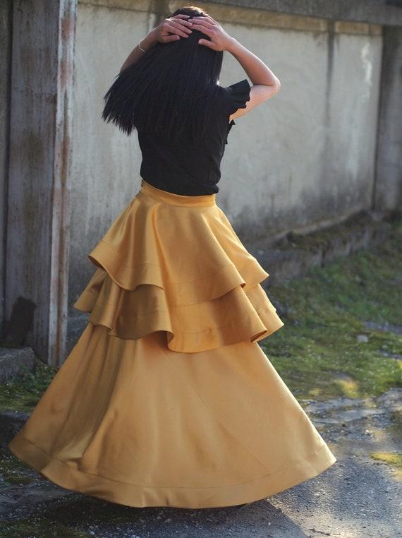 Women casual setlong casual skirt asymmetric topwomen maxi skirt asymmetric topwomen asymmetric shirt black long skir