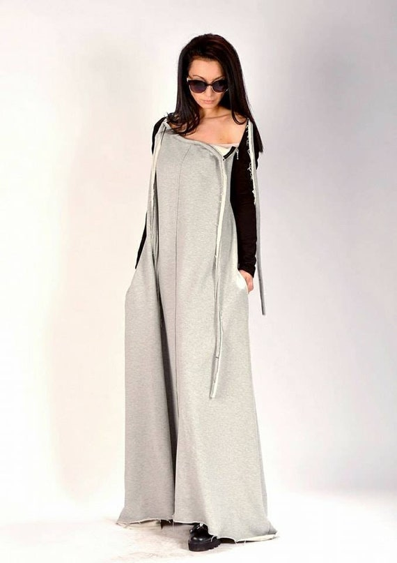 woman extravagant long dress maxi dress dress maxi dress Grey kaftan kaftan AnWfgn1