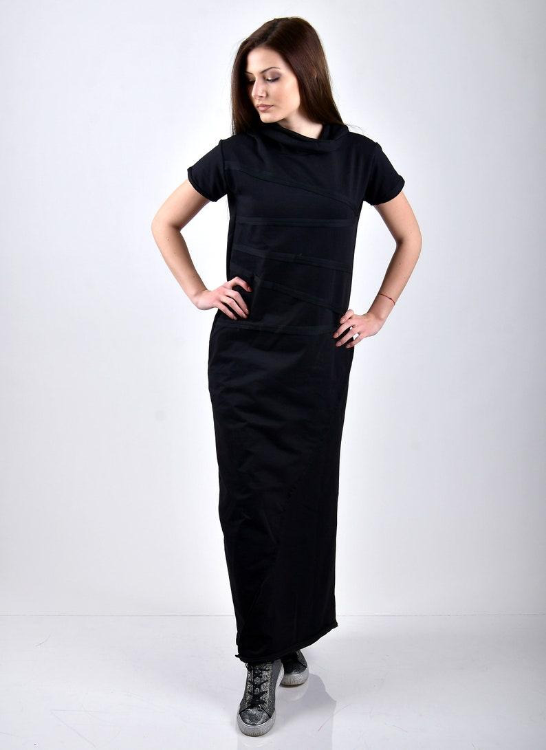 Black long dresslomg casuall dressBlack maxi dresslong maxi dressblack kaftan dressblack long maxi dressplus size dressoversize dress