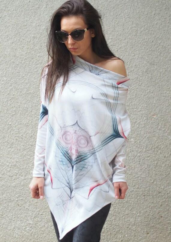 casual top poncho asymmetric woman woman woman tunic extravagant YCqYwxPWS4