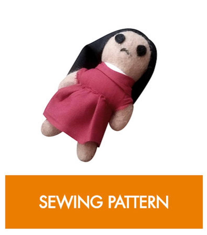 Chinese Cloth Doll Sewing Pattern