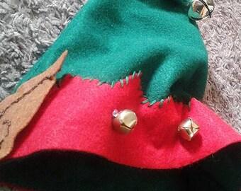 Santa's Helper Christmas Elf Hat